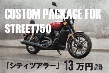 CUSTOM PACKAGE FOR STREET750