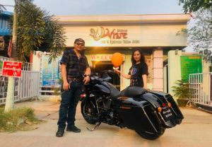 Into the Harley-Davidson® family.