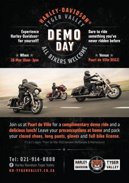 Demo Day at Paarl De Ville!