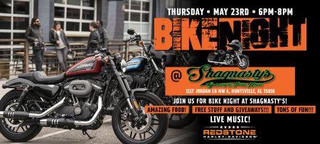 Bike Night at Shagnasty's!