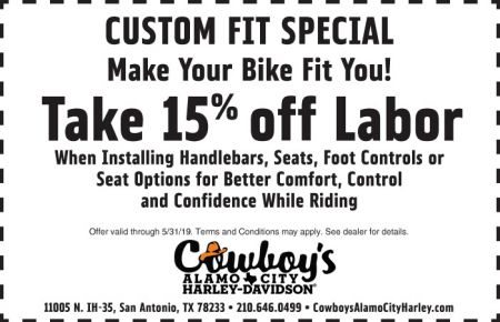 May Service Special - Custom Fit Special!