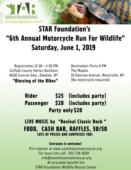 STAR Foundation Annual Motorcycle Run