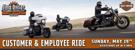 Customer & Employee Ride!