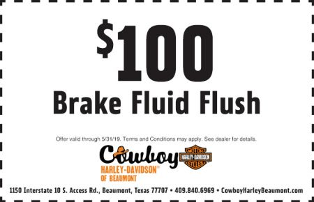 May Service Special - $100 Brake Fluid Flush