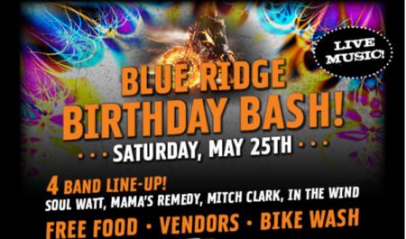 Blue Ridge Birthday Bash