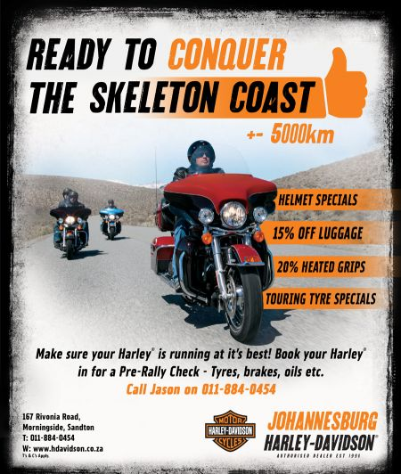 Ready to conquer the Skeleton Coast?