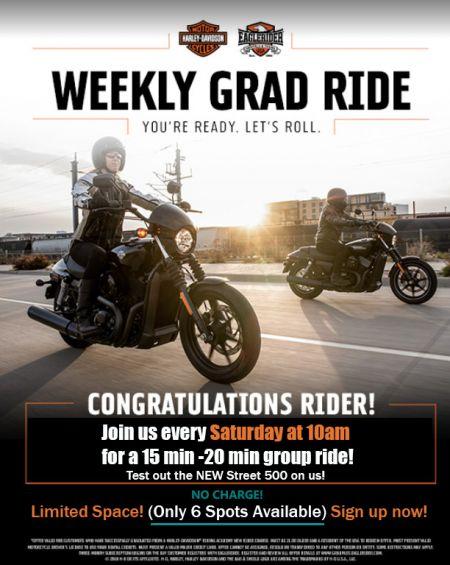 Weekly Grad Ride!