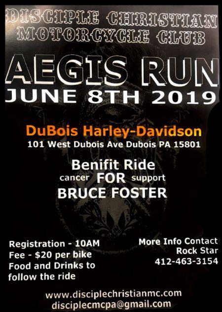 Aegis Cancer Benefit Ride