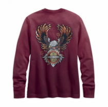 WOMENS 1903 Studded Eagle Long Sleeve Tee