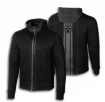 MEN'S H-D® MOTO Vertical Stripe Slim Fit Hoodie