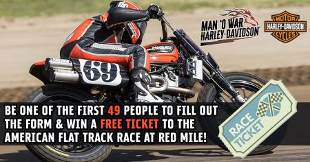 Flat Track Ticket Giveaway
