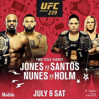 UFC 239 Fight Night!