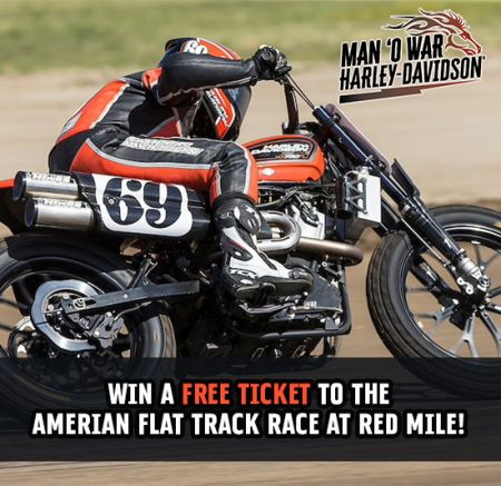 Win an American Flat Track Ticket Here