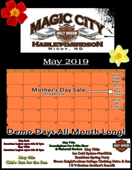 May Event Calendar