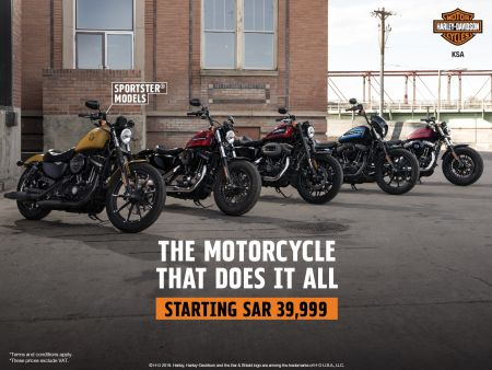 EXCLUSIVE OFFERS ON 2019 SPORTSTER MODELS