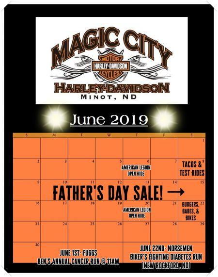 June Event Calendar