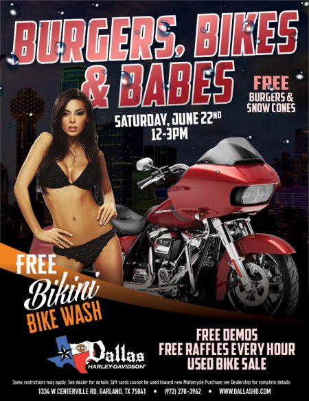 Burgers, Bikes and Babes