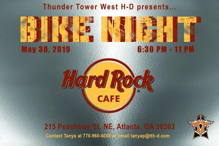 Bike Night at Hard Rock Cafe Atlanta