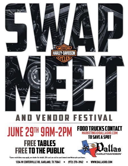 Swap Meet and Vendor Bash