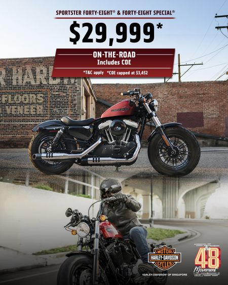 Forty-Eight & Forty-Eight Special | $29,999* incl. COE