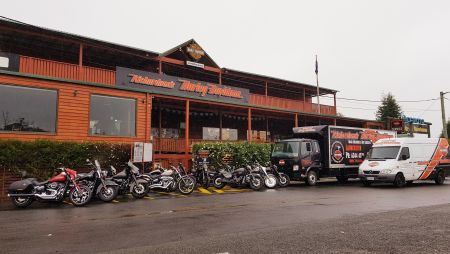 Hobart & Surrounding Areas Motorcycle Pick-Up & Returns