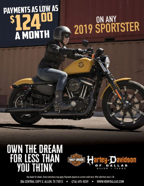 Buy a New Sportster
