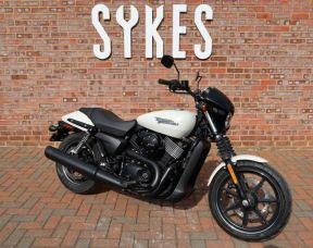 New 2019 Harley-Davidson Street 750, in Bonneville Salt Pearl