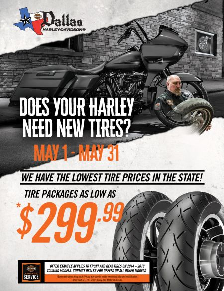 LOWEST TIRE PRICES IN THE STATE! ONLY FOR THE MONTH OF MAY!