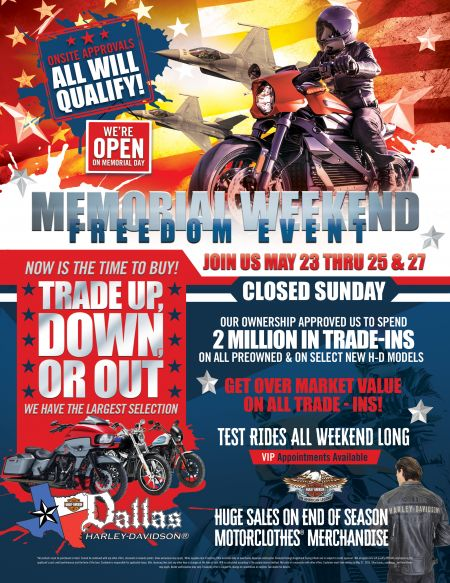 Memorial Weekend Freedom Event
