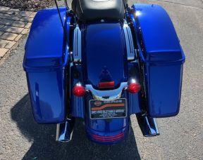 2019 Road Glide Factory Custom paint Blue Max