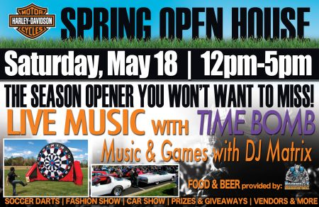 Ride Free(er) - Spring Open House