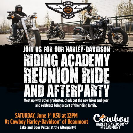 Riding Academy Reunion & Afterparty