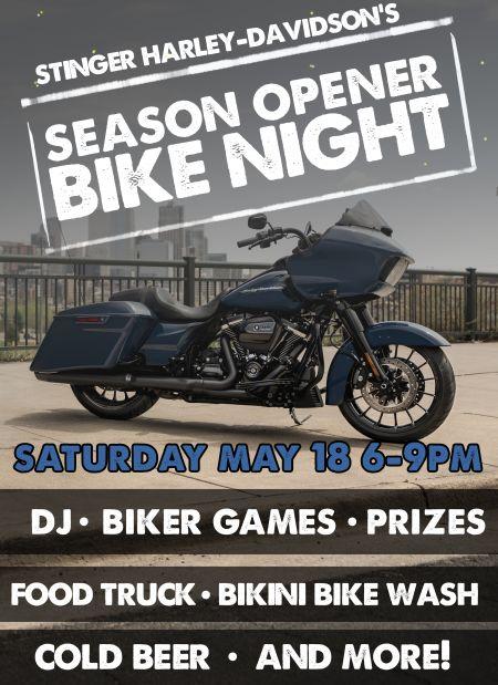 Season Opener Bike Night