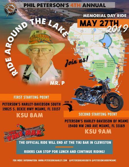 4th Annual Memorial Day Ride Around the Lake