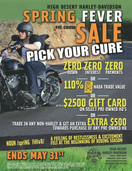 Spring Fever Pre-Owned SALE