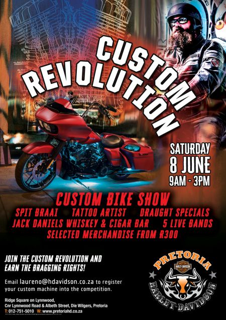 CUSTOM REVOLUTION DAY - 8 JUNE 2019