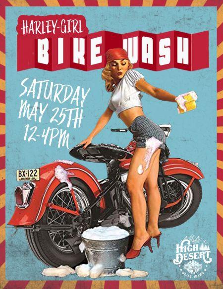 HARLEY GIRLS Bike WASH