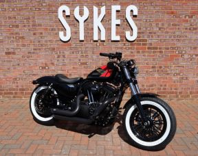 NEW, Custom Harley Davidson 2019 Forty-Eight, Full Stage One - No.2 Short Brow