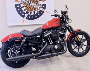 2019 Iron 883 in Wicked Red