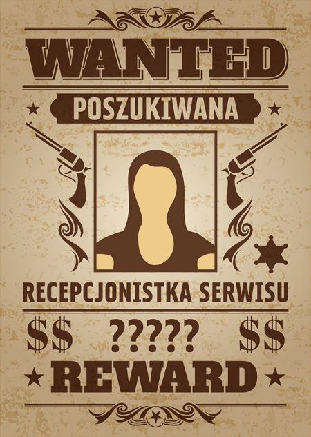 POSZUKIWANA RECEPCJONISTKA SERWISU!