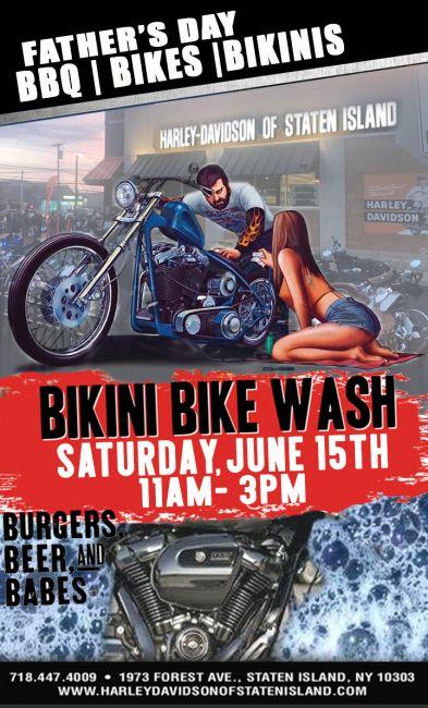 Fathers Day Bike Wash