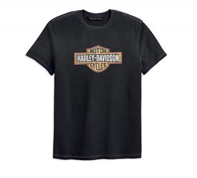 Harley-Davidson® Men's Crackle Logo Slim Fit Tee