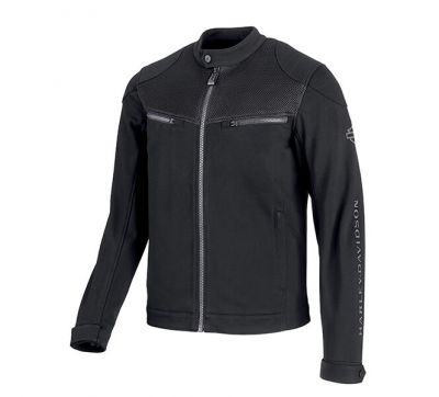 Harley-Davidson® Men's 3D Mesh Accent Casual Slim Fit Jacket
