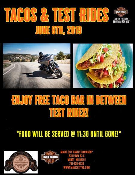 Tacos & Test Rides