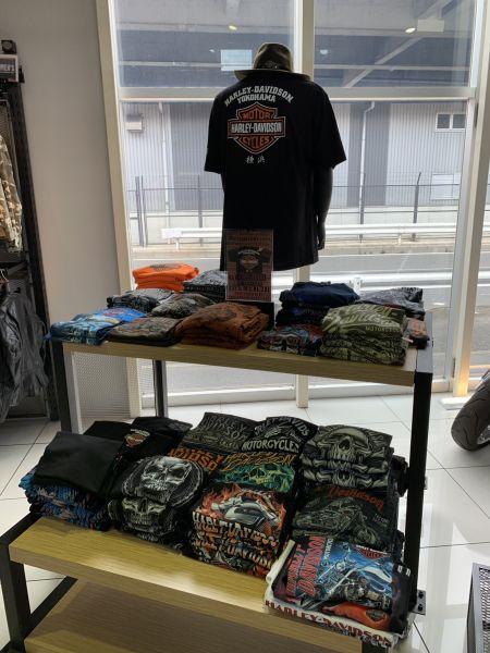 ハーレーダビッドソン横浜オリジナルTシャツ限定入荷!!