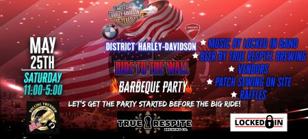 Ride to the Wall BBQ Party
