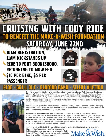 Cruising With Cody Ride
