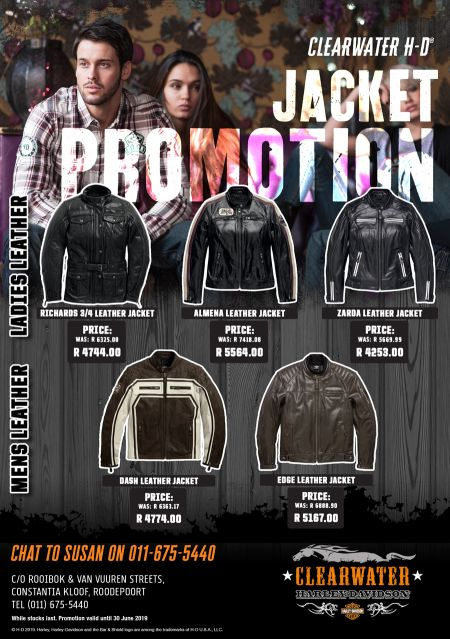Clearwater Harley - Jacket Promotion