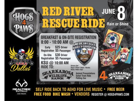 HOGS 4 PAWS RESCUE RIDE
