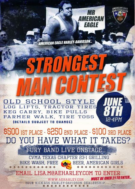 Strongest Man Contest!